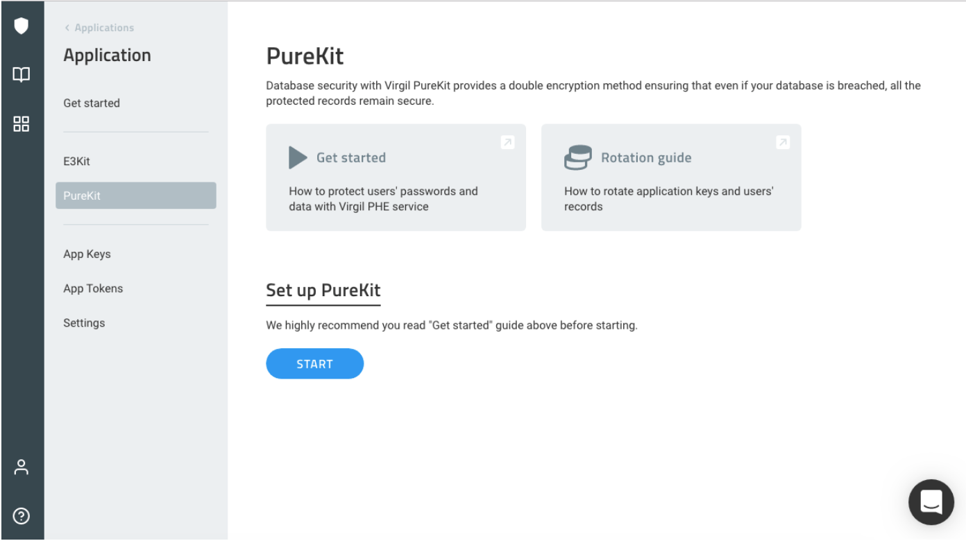 purekit, set up purekit